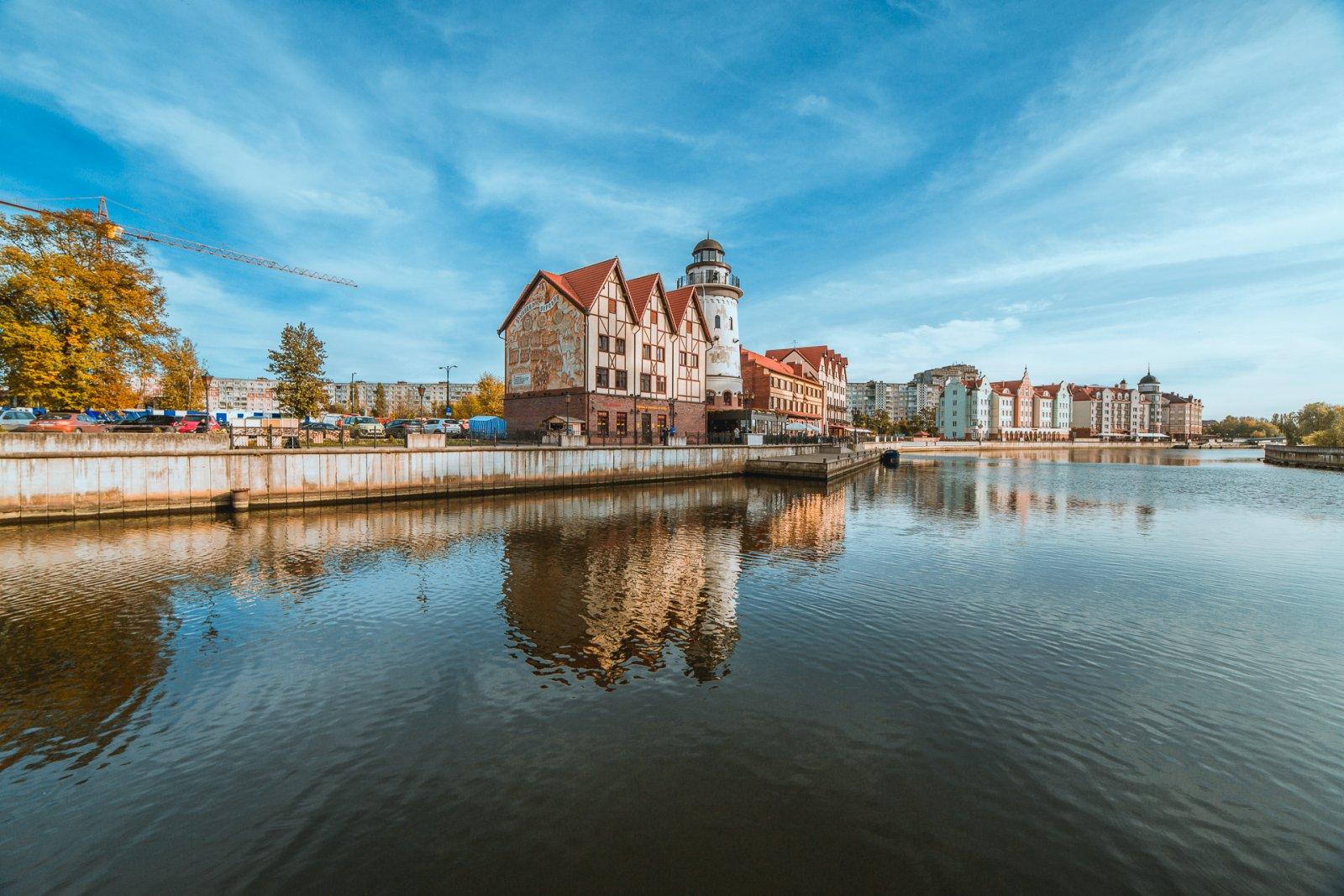 Фотографии города калининград