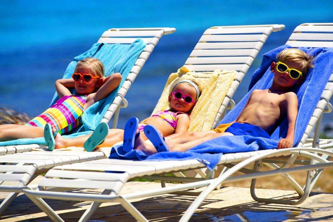Открытку, дети на пляже прикольные картинки