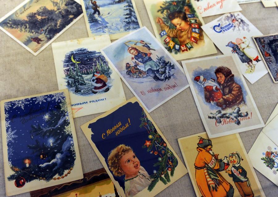 Почтовые открытки интересные, виде сердца