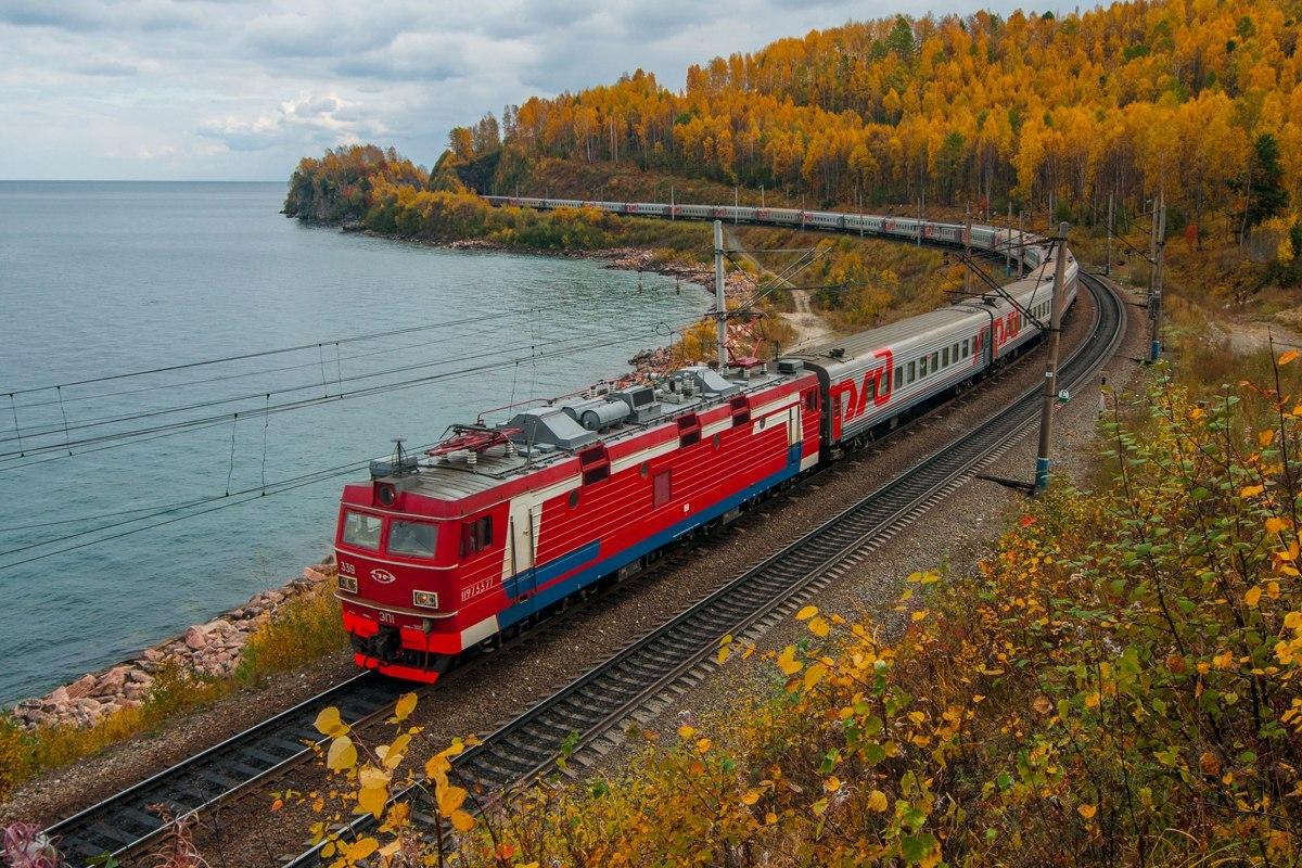 Người Nga thường du lịch bằng tàu hỏa đi những nước nào?