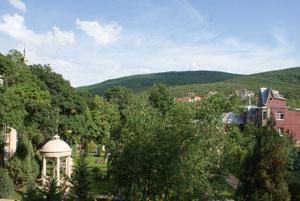 Вид на Старый парк