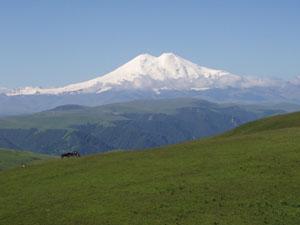 Эльбрус на Кавказе
